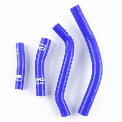 silicone radiator coolant hose Yamaha YZ250F YZF250 2014-2018 BLUE