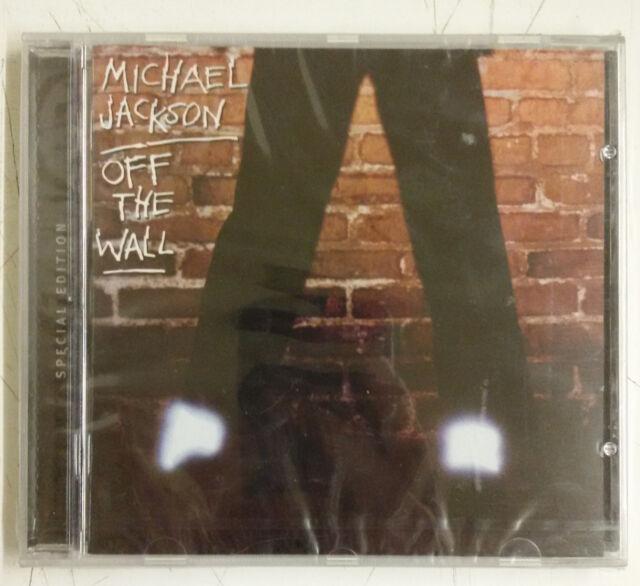 Michael Jackson Off The Wall CD Europa remasterizado 2001