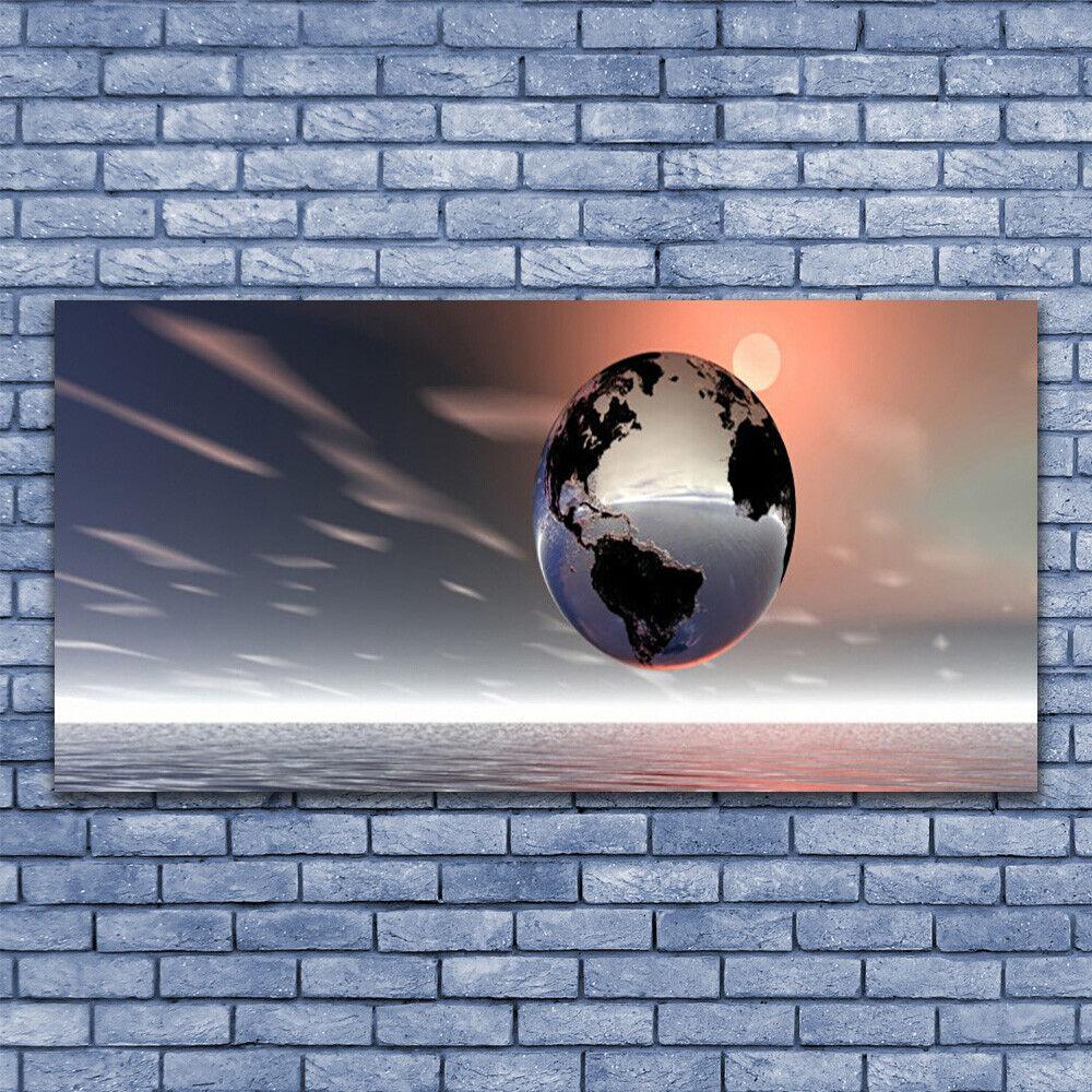 Glasbilder Wandbild Druck auf Glas 140x70 Erde Kunst