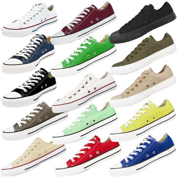 Nuevos zapatos para hombres y mujeres, descuento por tiempo limitado Converse Chuck Taylor All Star Ox zapatos clásico Chuck Low cortos Basic