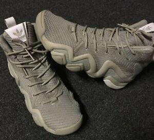 Adidas-Crazy-8-ADV-Primeknit-Basketball-Shoes-8-5-Sesame-Beige-White-Kobe-Bryant