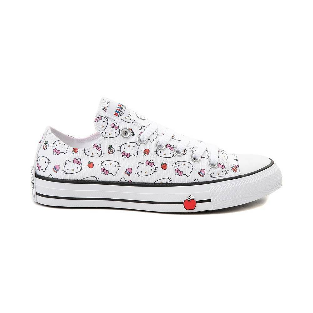 NEW Converse x Hello Kitty Chuck Taylor All Star Low 163916F womens shoe sneaker
