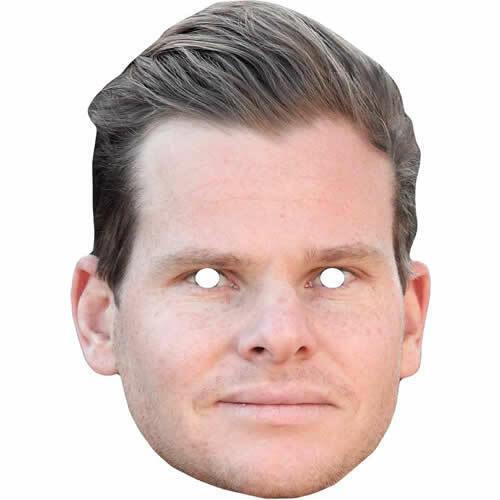 Steve Smith Austrailian Cricketer Celebrity Sports Card Mask Masks Pre-Cut***