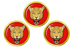 Heraldique-Leopard-039-s-Tete-Marqueurs-de-Balles-de-Golf