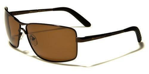 DESIGNER POLARIZED SUNGLASSES NEW MENS LADIES BLACK BIG DRIVING PILOT LENS UV400