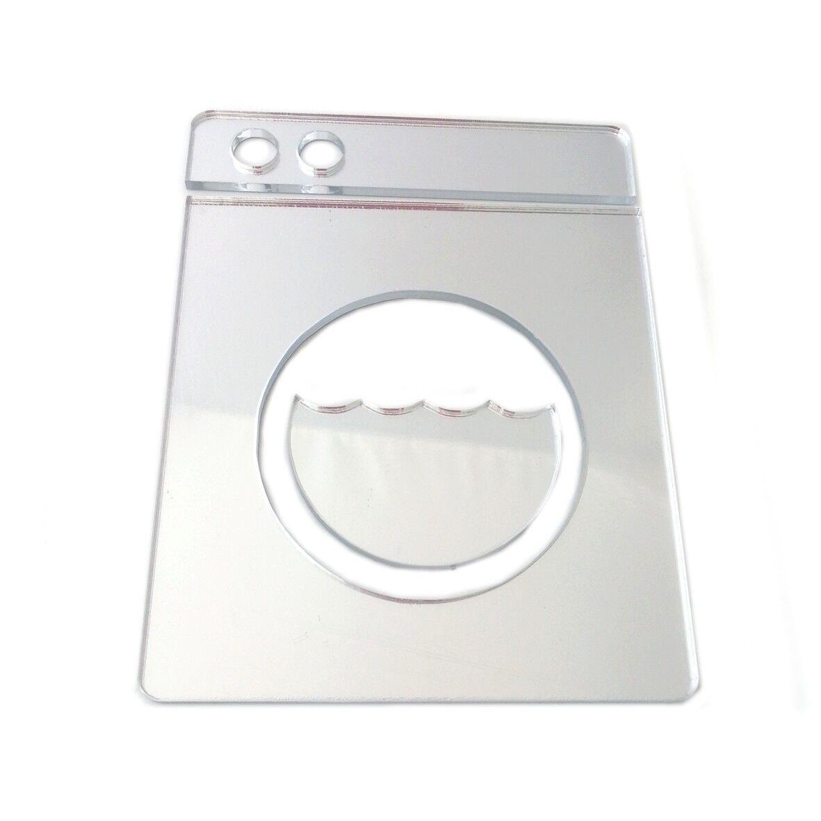 s l1600 - Lavadora Utilidad Letrero Puerta Espejo Acrílico (Varios Tamaños)