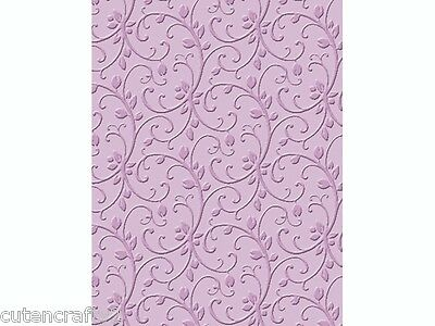 Craft Concepts Embossing Folder - Budding Vine 2118569012