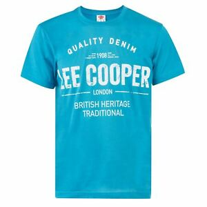 Frugal T-shirt Homme Lee Cooper (du M Au Xxl) Neuf Top PastèQues