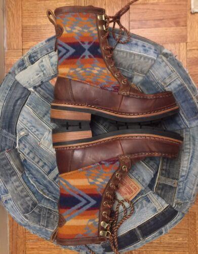 New CLARKS PENDLETON 7.5 Boots Brown Tan Ottawa Pe