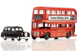 ea838be72 Details about Oxford PT004 Routemaster Bus & Taxi Gift Set London No. 12 to  Piccadilly (SH3)