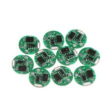 10Pcs 1S 3.7V 4.5A Li-ion Lithium Battery 18650 Charger PCB BMS Protection Board