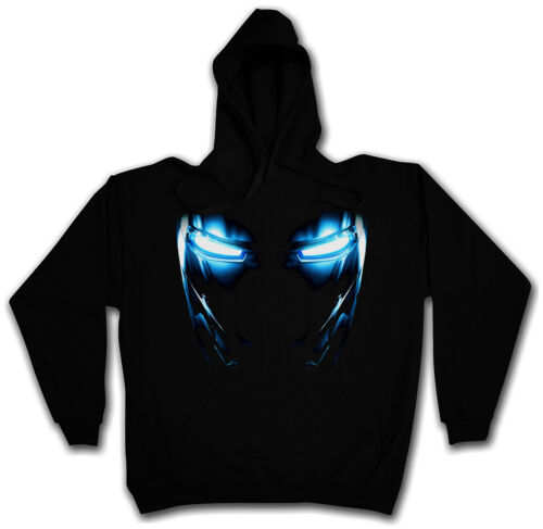 Mark II Eyes Hooded Sweat-CON CAPPUCCIO PULLOVER HOODIE-Iron Tony si Armor Forte
