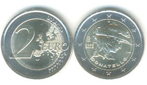 2-Euro-Gedenkmuenze-2016-Italien-550-Todestag-Donatello