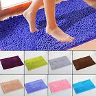 Non-slip Thick Microfiber Bath Mat Bathroom Bedroom Shower Carpet Rugs 40*60cm