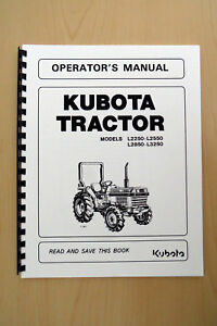 details about kubota l2250 l2550 l2850 l3250 model tractor operator\u0027s manual new printed book rx51 voltage regulator wiring diagram kubota l2250 l2550 l2850 l3250 tractor