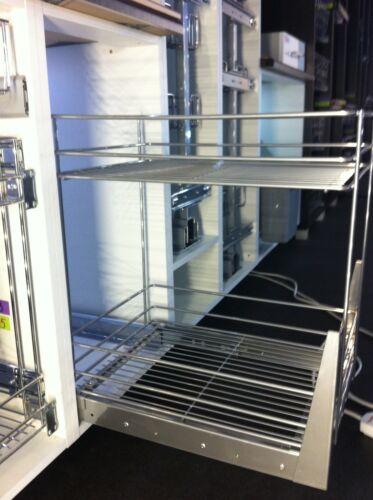 CARGO BASKET PULL OUT KITCHEN STORAGE SOFT CLOSE 150 200 300 400 500 600mm