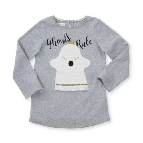 Mud Pie H8 Halloween Baby Toddler Girl Spider OR Ghost Tunic Choose Design//Size