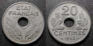 Seconde-guerre-mondiale-Etat-Francais-20-centimes-1942-F-153-4