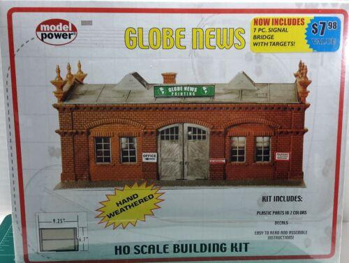 HO Scale Model Power /'Globe News/' Hand Weathered KIT #477