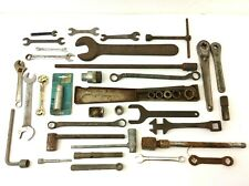 Mixed Vintage Lot Used Wrenches Hand Tools Tractor 709 Posi Lock 7202 Parts
