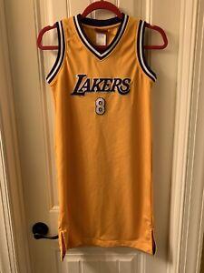 Details about Kobe Bryant 8 women's jersey dress reebok size small