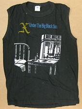 X Under The Big Black Sun 1982 Us Promo Only Punk T-Shirt Sleeveless Large Minty