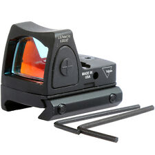 Tactical Mini Ruggedized RMR Reflex Optics Sight Fits on Picatinny/Weaver Rails