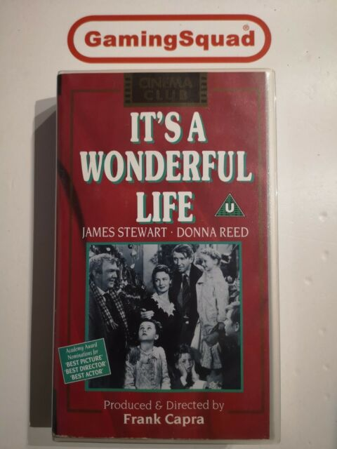 It's A Wonderful Life VHS Video Retro, Supplied by Gaming Squad