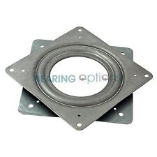 "LAZY SUSAN BEARING 4"" or 100mm Swivel Turntable Bearing square"