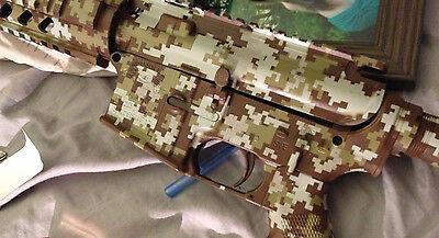 Digital Camo Vinyl Airbrush Stencil Paint Kit Huge 24x26 Camouflage