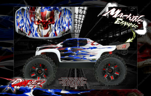PRO-LINE BRUTE BASH UNBREAKABLE BODY GRAPHICS FOR ARRMA OUTCAST NOTORIOUS RIPPER
