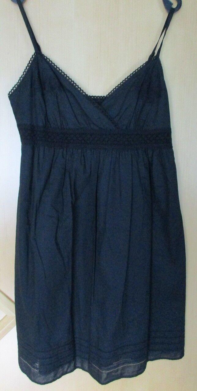 Esprit collection Kleid Minikleid Partykleid mit Häkelspitze, schwarz Gr. 42