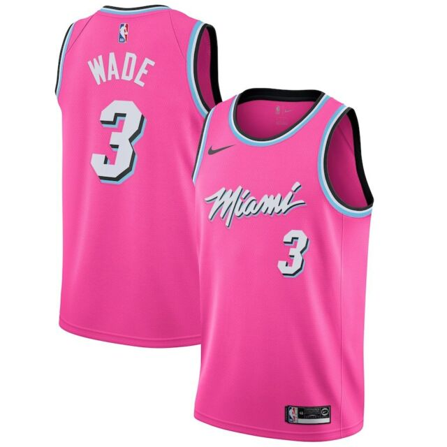 c453cc66c11 Nike Dwyane Wade Earned City Edition Swingman Jersey Miami Heat Vice ...