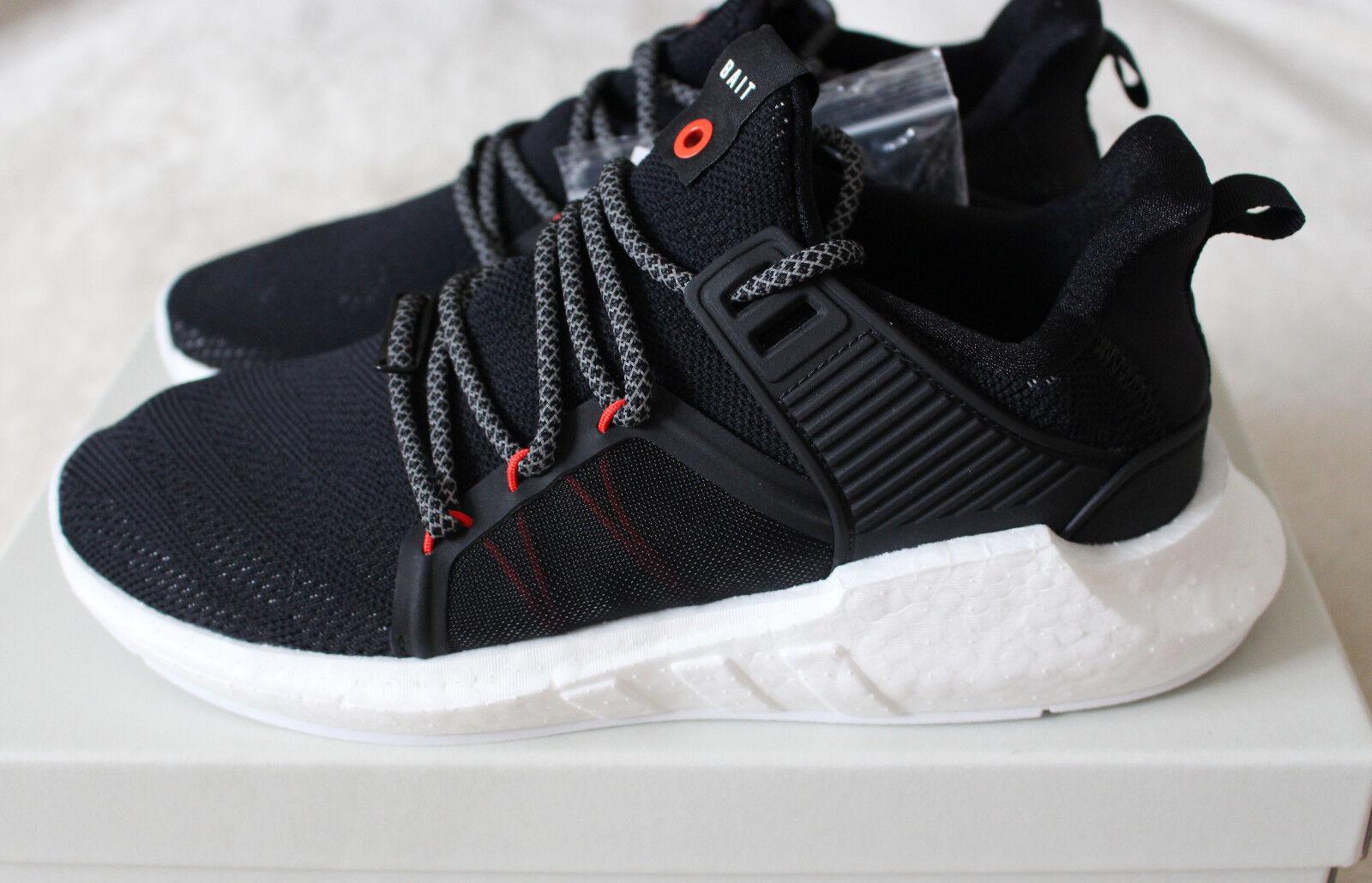 Nuevo Adidas Bait EQT 93 17 desarrollo de investigación y desarrollo Support Future Negro Rojo nos 11