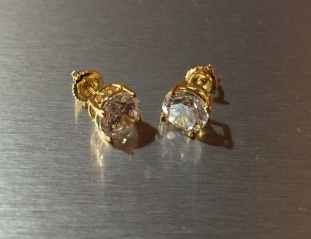 online gold grande spo uk shop stud products screw ball yellow earrings back mm
