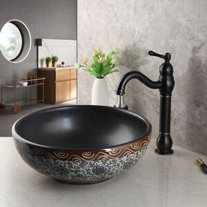 Ceramic Basin Bowl Vessel Sink