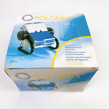 Rolodex Business Card File Rotary Indexed Tabs 2 58 X 4 Inch 200 Sleeved Cards