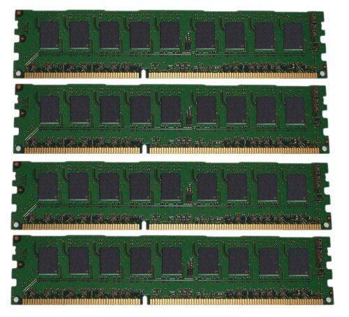 NEW 4x2GB 8GB Memory PC2-5300 ECC UNBUFFERED RAM Dell Poweredge 850