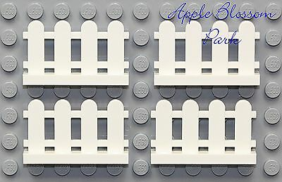 LEGO PARTS x30 qty Fence Pieces Paled Picket Mix Color Mostly White Excellent