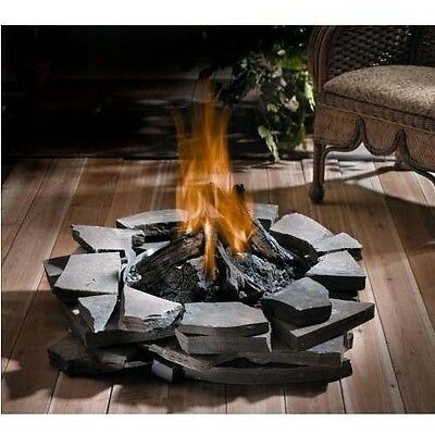 Custom Outdoor Fire Pit Natural Gas Or Propane 60 000 Btu Stainless Steel Ebay