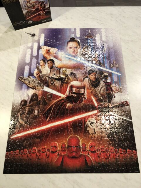 🧩 Star Wars 1000 Piece Buffalo Games Puzzle Disney - Poster Included!!!!