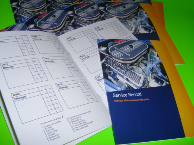 ☆ SERVICE BOOK BLANK Car Van Peugeot 106 107 2008 206 207 208 3008 306 307 4007