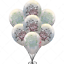 """12/"""" Mix Printed Latex Balloons For Baby Shower Birthday or Any type of PartiesUK"""