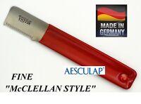 Aesculap mcclellan Stylehand Fine Stripping Knife Coat Stripper Carding Knives