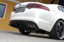 Jaguar XF Carbon Fiber 4D Saloon Boot Lip Spoiler Wing 2007-2011 UK SELLER