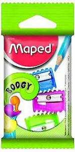 Bambini colorati scuola temperamatite in una confezione da 3