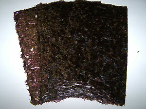 Dark-Roasted-Nori-Seaweed-Sheets-Marine-Fish-Food