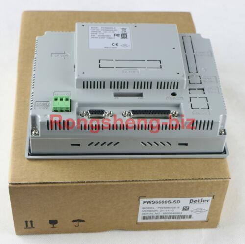 1PC PWS6600S-S PWS6600S-SD HITECH HMI Human Machine Interface New In Box #RS01
