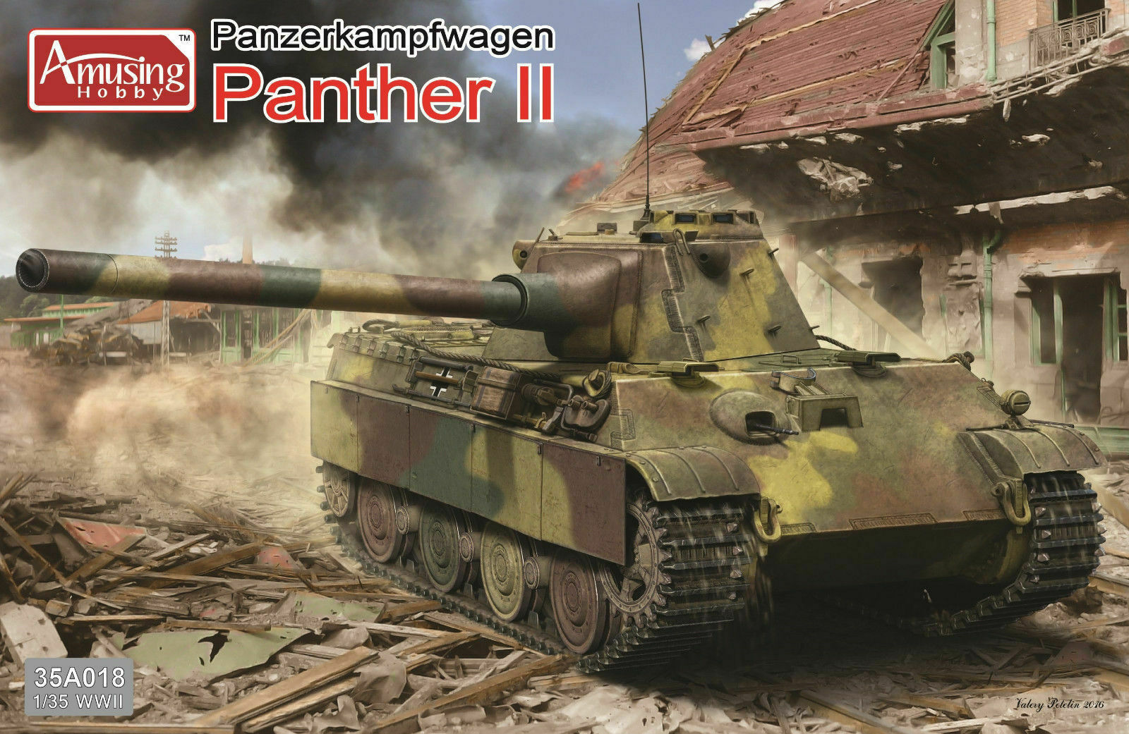 Panther II (2in1) Amusing Hobby 1 35