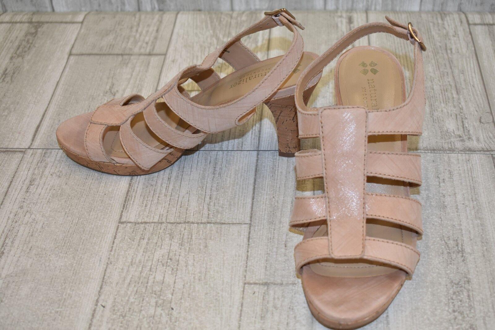 economico e alla moda Naturalizer Preya Preya Preya Strappy Leather Sandals, Donna  Dimensione 7.5W, Mauve NEW  clienti prima reputazione prima